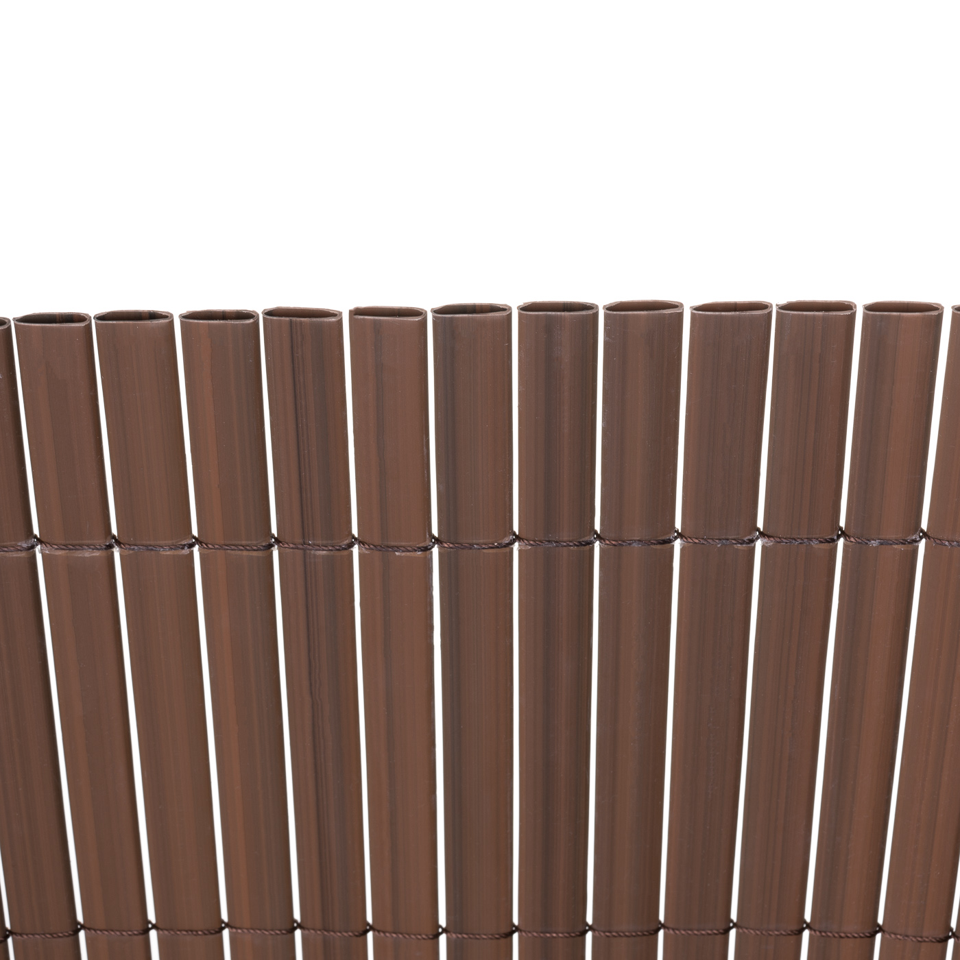 Sichtschutzmatte Pvc Sichtschutzzaun Windschutz Grau Braun Bambus