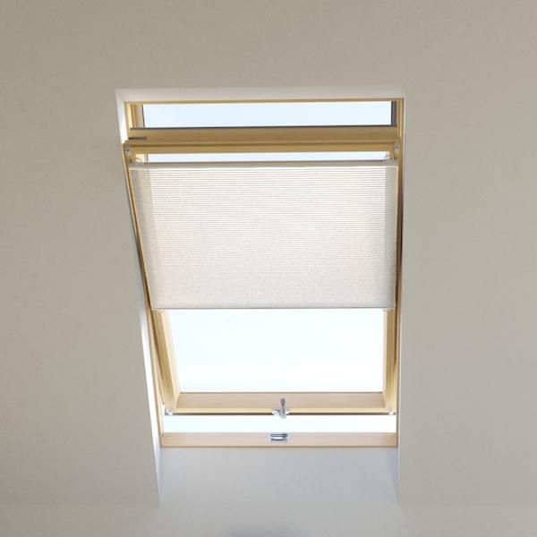 plissee dachfenster wabenplissee tageslicht weiss passen. Black Bedroom Furniture Sets. Home Design Ideas