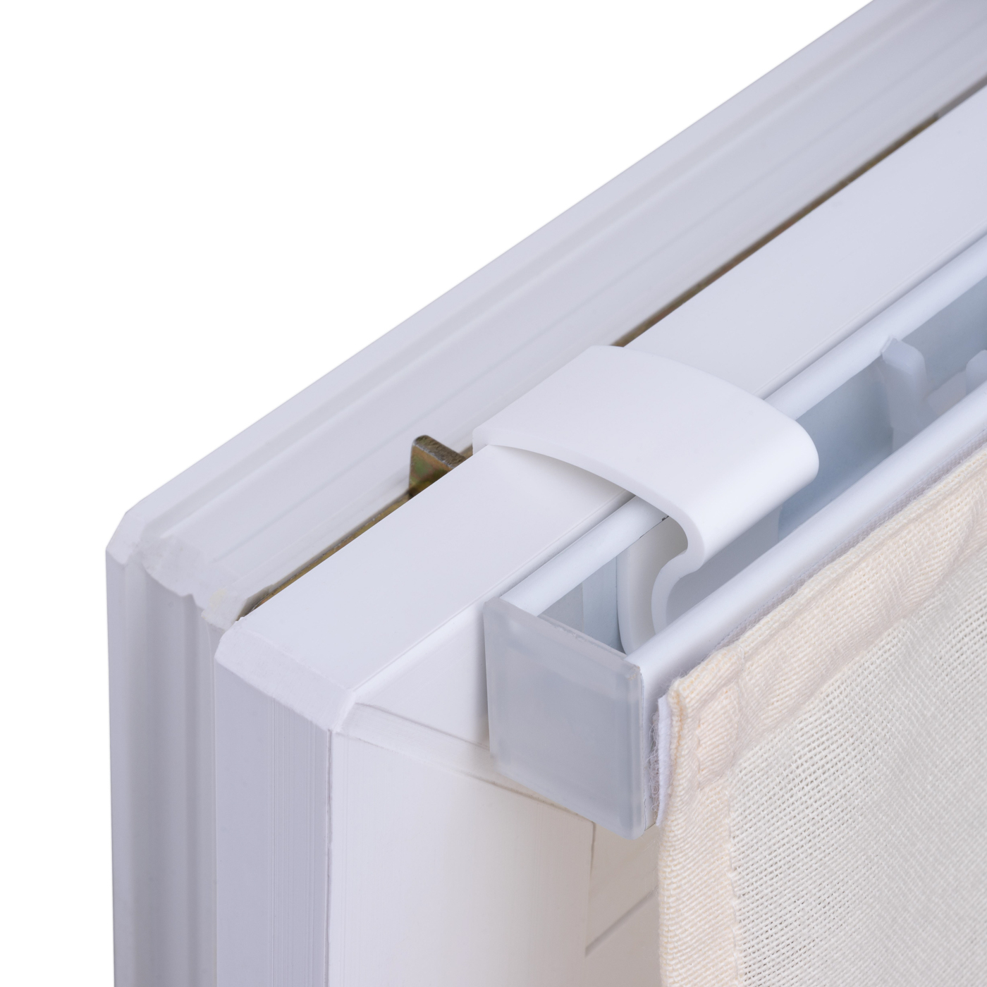 raffrollo klemmfix beige raffgardine fenster faltrollo rollo gardine ebay. Black Bedroom Furniture Sets. Home Design Ideas