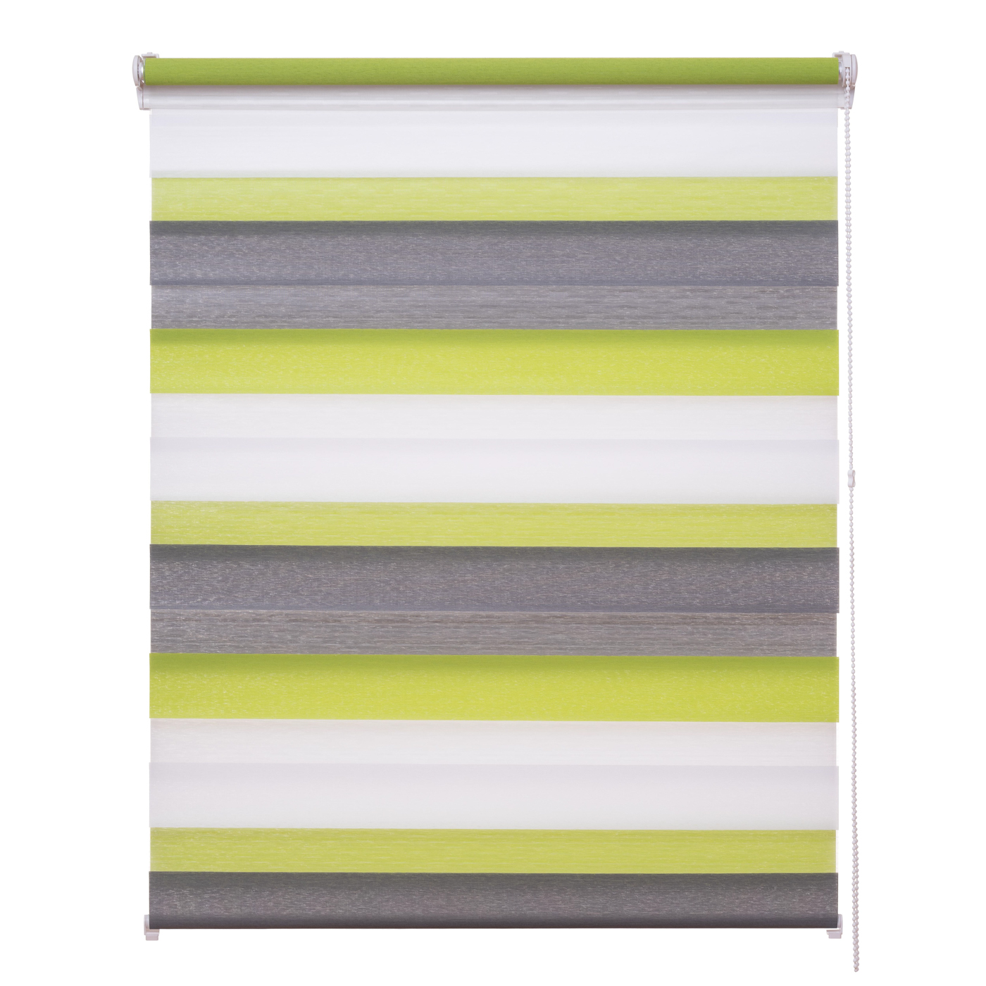 doppelrollo duo rollo 3 farbig verspannt gr n grau anthra klemmfix ohne bohren ebay. Black Bedroom Furniture Sets. Home Design Ideas
