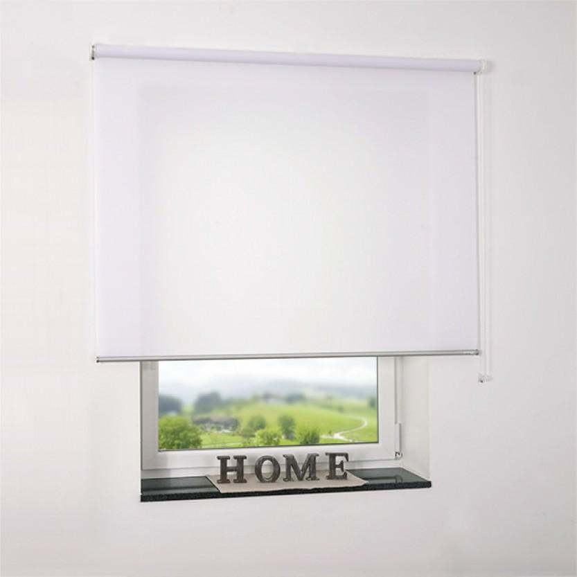 sch ner wohnen rollo standard weiss lichtdurchl ssig. Black Bedroom Furniture Sets. Home Design Ideas