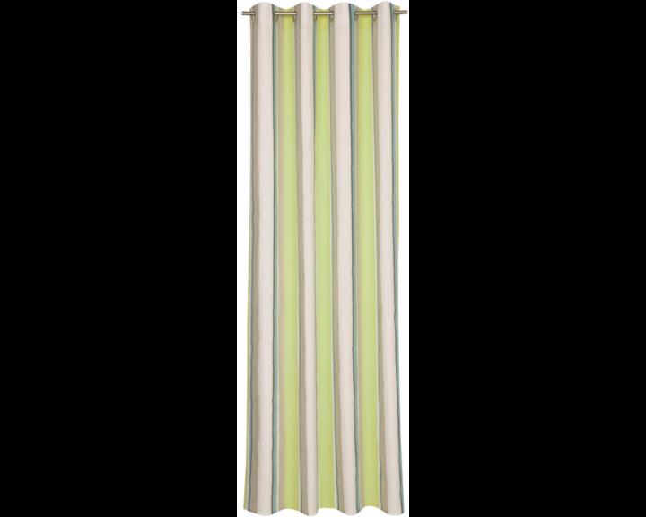 sch ner wohnen stripes aqua lime 50581 085 140 250. Black Bedroom Furniture Sets. Home Design Ideas