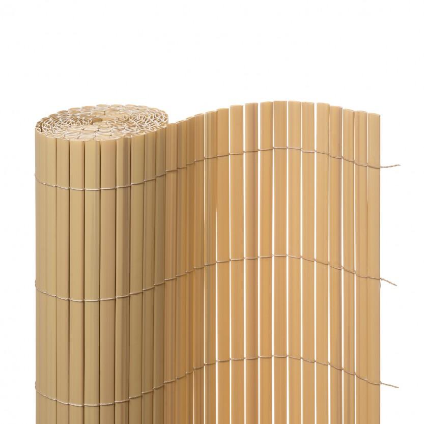 sichtschutzmatte pvc bambus balkonverkleidung au en jaromondo shop. Black Bedroom Furniture Sets. Home Design Ideas