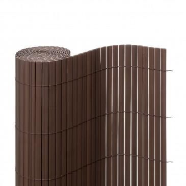 Sichtschutzmatte PVC braun