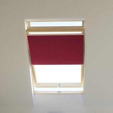 Dachfenster Wabenplissee raumverdunkelnd fuchsia, für VELUX, FAKRO, ROTO