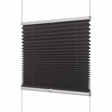 Fenster Plissee anthrazit / viele Größen