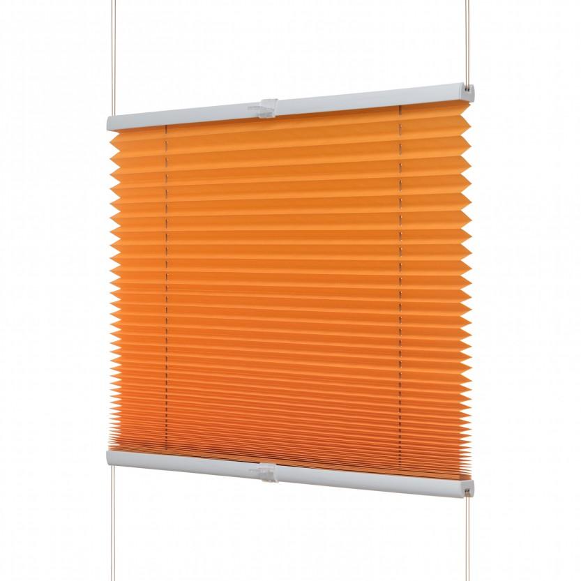 fenster plissee orange viele gr en fenster plissee plissees jaromondo shop. Black Bedroom Furniture Sets. Home Design Ideas