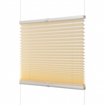 Fenster Plissee beige / viele Größen