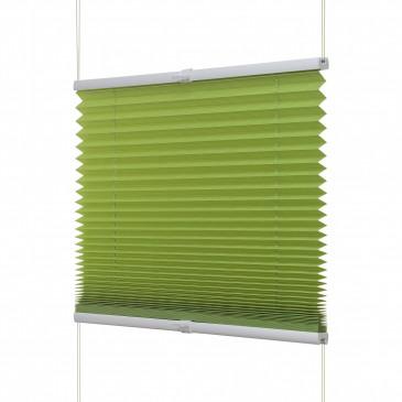 Fenster Plissee apfel grün / viele Größen