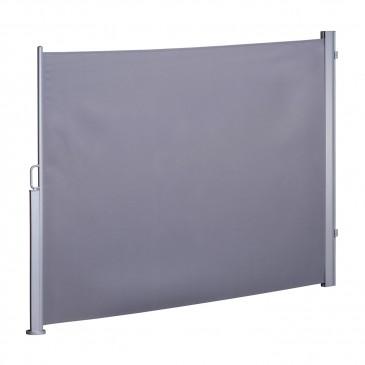 Seitenmarkise Höhe 180x300cm grau