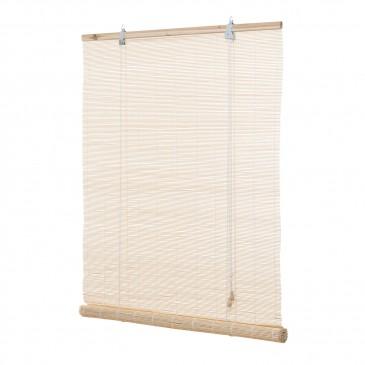 Bambusrollo Natur inklusive Montagematerial