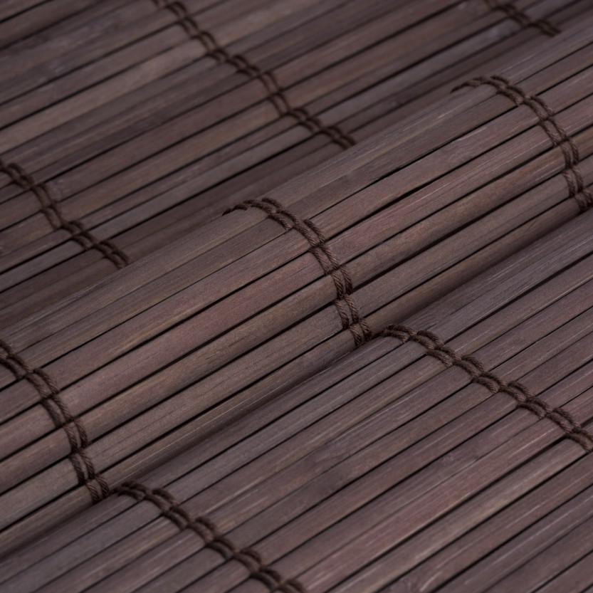 Bambus raffrollo excellent so zum beispiel mit steinen - Bambus pflegen zimmer ...
