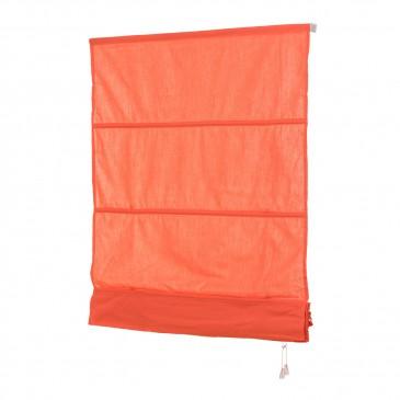Raffrollo Orange inklusive Montagematerial
