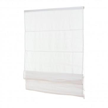 Fenster Raffrollo weiß / viele Größen