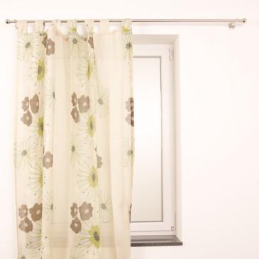 Ventanara Schlaufenschal Fleur grün 135x245cm