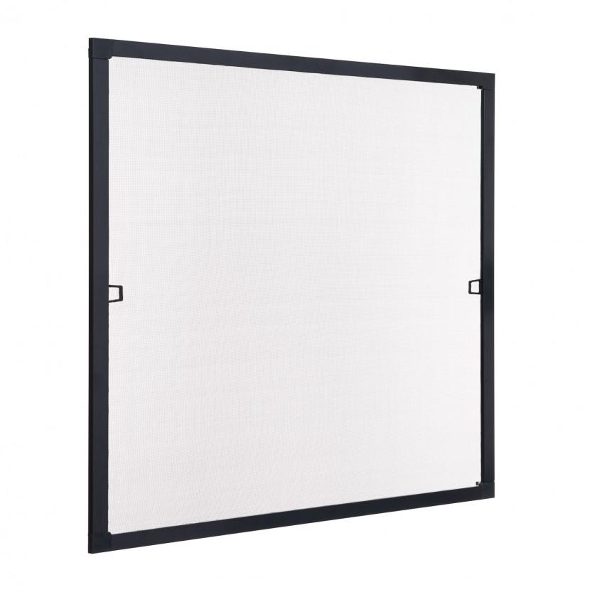 Insektenschutz fenster spannrahmen schwarz ral 9011 for Fenster shop