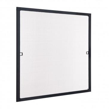 Insektenschutz Fenster Spannrahmen schwarz (RAL 9011)