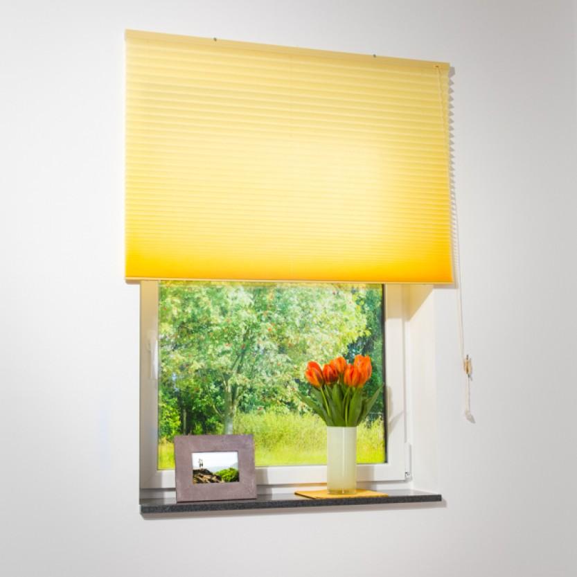 plissee jalousie gelb viele gr en plissee jalousie. Black Bedroom Furniture Sets. Home Design Ideas