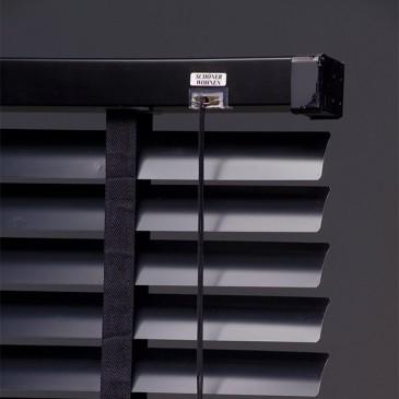 Schöner Wohnen Alujalousie 50mm schwarz