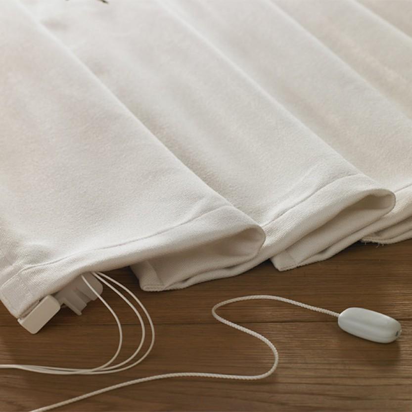 sch ner wohnen raffrollo tageslicht weiss. Black Bedroom Furniture Sets. Home Design Ideas