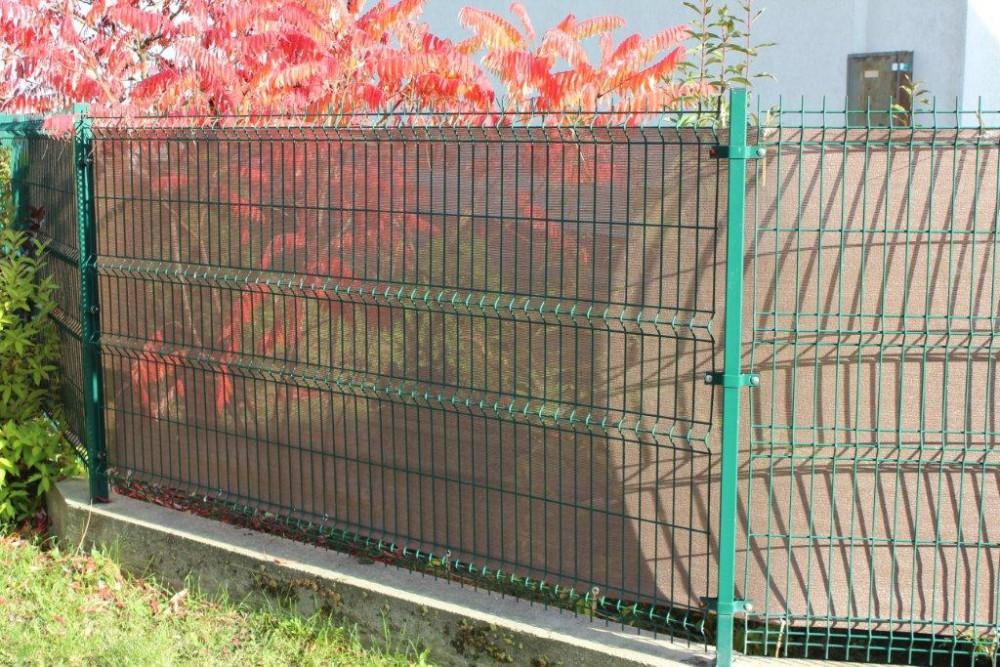 Zaun Sichtschutz Verkleidung Braun Viele Grossen Zaunverkleidung